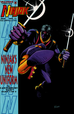 Ninjak 011-015 (1995) free download