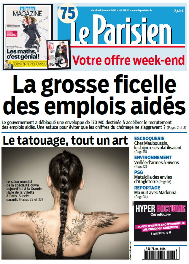 Le Parisien Magazine du Vendredi 6 Mars 2015 free download