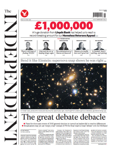 The Independent March 06 2015 free download