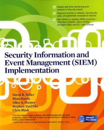 Security Information and Event Management (SIEM) Implementation free download