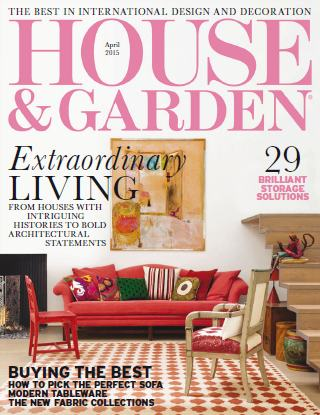 House and Garden - April 2015 free download