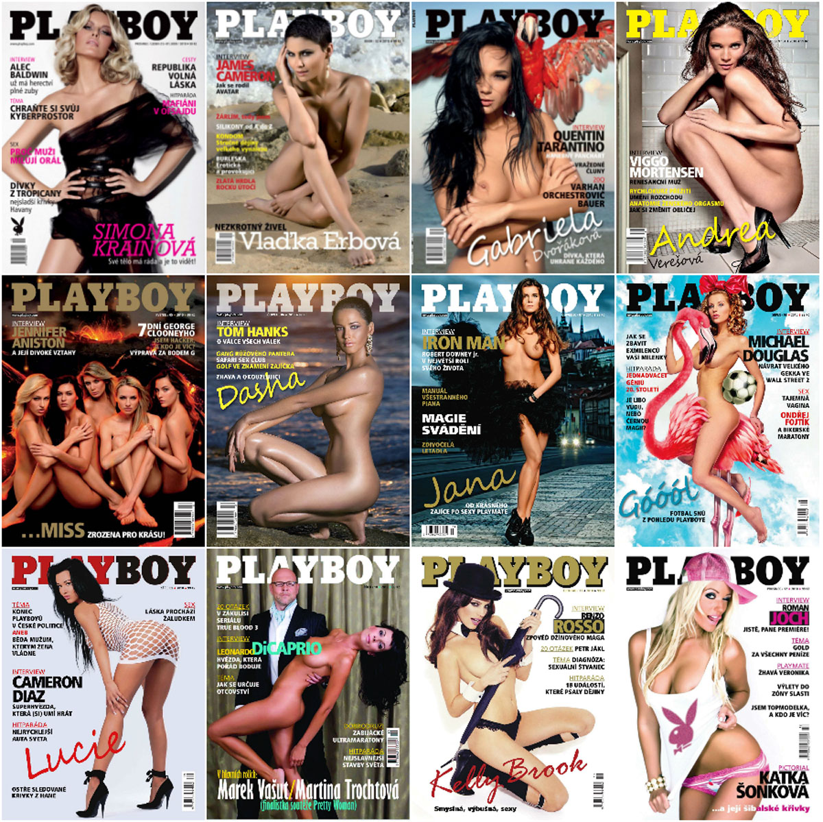 Playboy Czech - Full Year 2010 Collection free download
