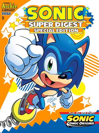 Sonic Super Digest 009 (2014) free download