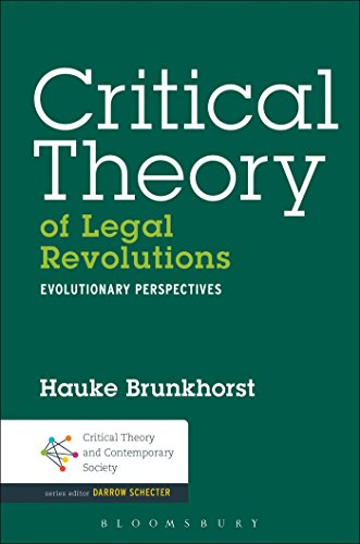 Critical Theory of Legal Revolutions: Evolutionary Perspectives free download