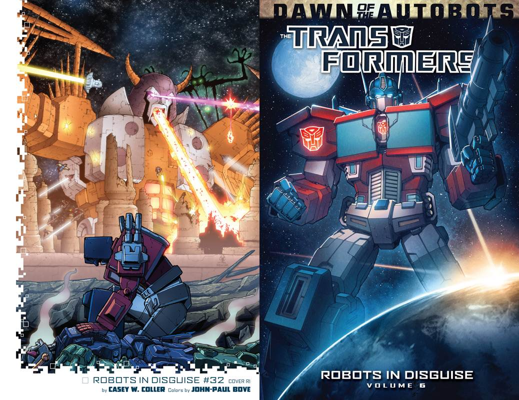 The Transformers - Robots in Disguise Vol. 06 (2014) free download
