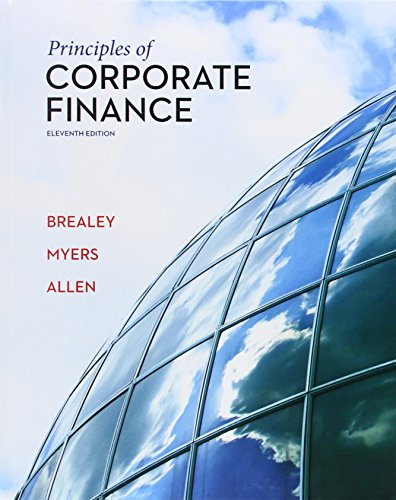 Principles of Corporate Finance, 11th edition free download