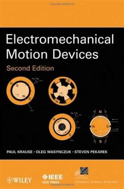 Electromechanical Motion Devices (2nd Edition) free download