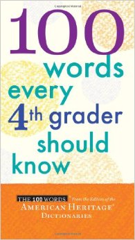 100 Words Every Fourth Grader Should Know free download
