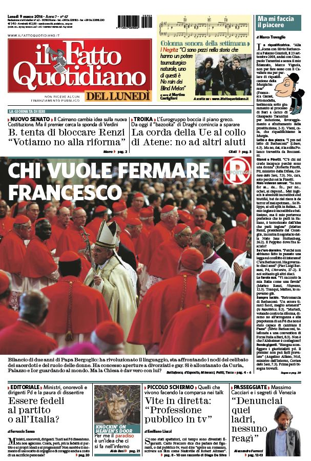Il Fatto Quotidiano (09-03-15) free download