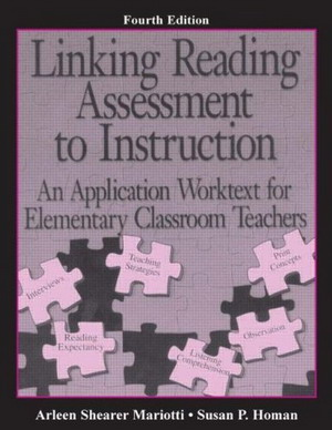 Linking Reading Assessment to Instruction: An Application Worktext for Elementary Classroom Teachers free download