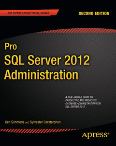 Pro SQL Server 2012 Administration free download