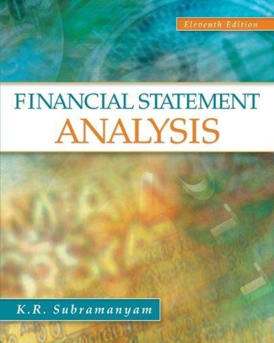 Financial Statement Analysis, 11th edition free download