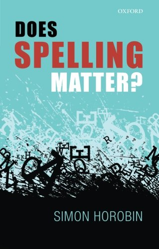 Does Spelling Matter? free download