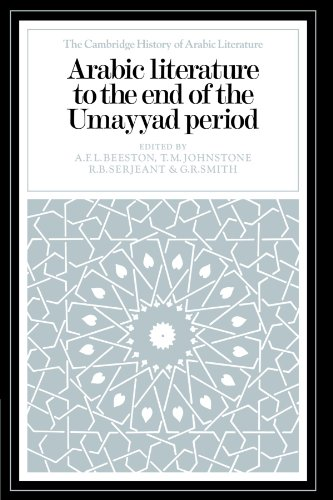 Arabic Literature to the End of the Umayyad Period free download