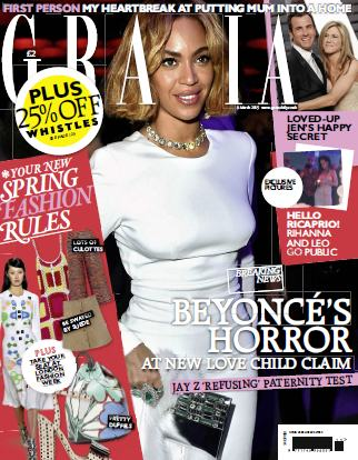 Grazia UK - 9 March 2015 free download