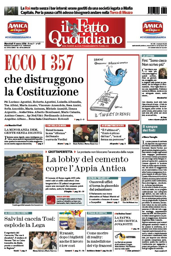 Il Fatto Quotidiano (11-03-15) free download