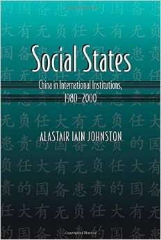 Social States: China in International Institutions, 1980-2000 free download