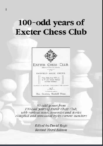 100-odd Years of Exeter Chess Club free download