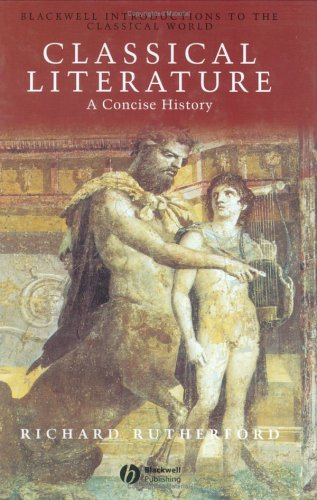 Classical Literature: A Concise History by Richard Rutherford free download