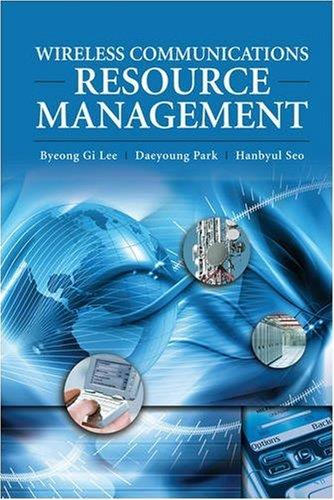 Wireless Communications Resource Management free download