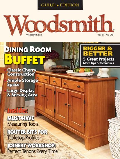 Woodsmith Magazine #218 - April/May 2015 free download