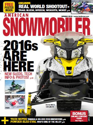 American Snowmobiler - Spring 2015 free download