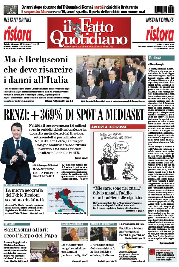 Il Fatto Quotidiano (14-03-15) free download