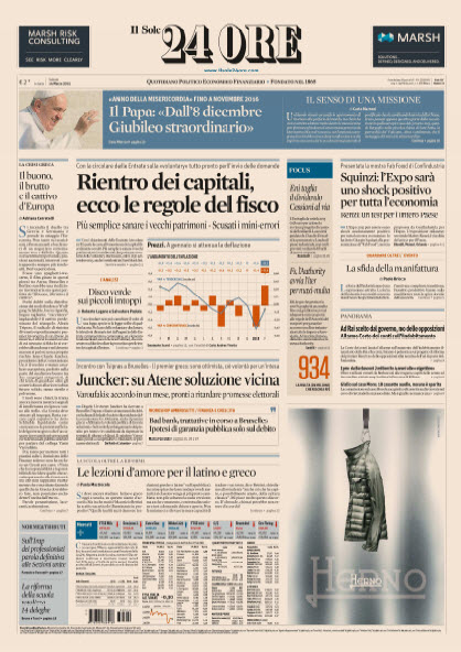 Il Sole 24 Ore - 14.03.2015 free download