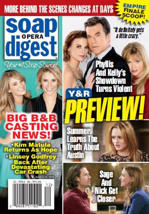 Soap Opera Digest - 23 March 2015 free download