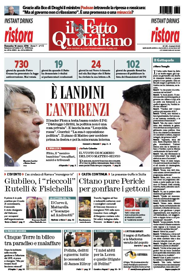 Il Fatto Quotidiano (15-03-15) free download