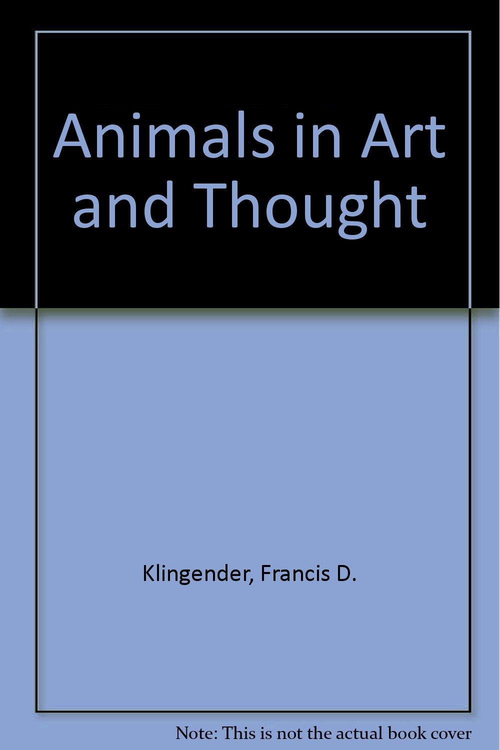 Animals in Art and Thought free download