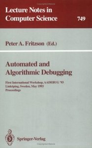 Automated and Algorithmic Debugging free download