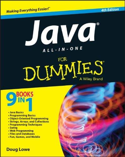 Java All-in-One For Dummies (4th edition) free download