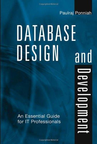 Database Design and Development: An Essential Guide for IT Professionals free download