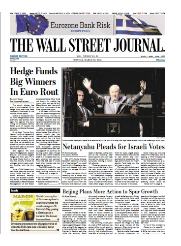 The Wall Street Journal (Europe) March 16 2015 free download
