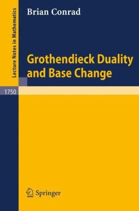 Grothendieck Duality and Base Change free download
