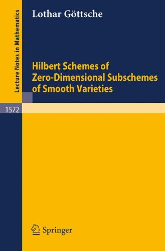 Hilbert Schemes of Zero-Dimensional Subschemes of Smooth Varieties free download