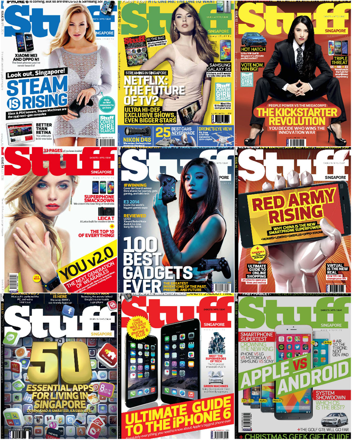 Stuff Singapore - Full Year 2014 Collection free download