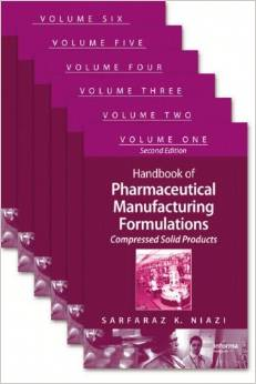 Handbook of Pharmaceutical Manufacturing Formulations, Second Edition free download