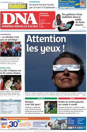 DNA Strasbourg du Mercredi 18 Mars 2015 free download