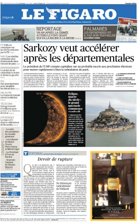 Le Figaro du Mercredi 18 Mars 2015 free download