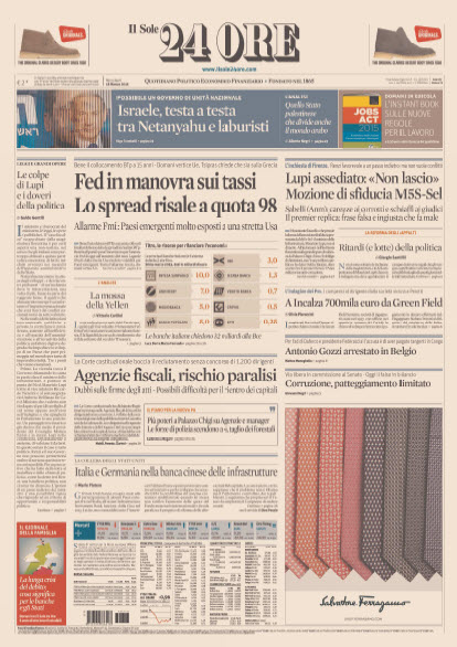 Il Sole 24 Ore - 18.03.2015 free download