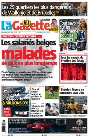 La Nouvelle Gazette du Mercredi 18 Mars 2015 free download