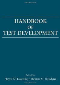 Handbook of Test Development download dree