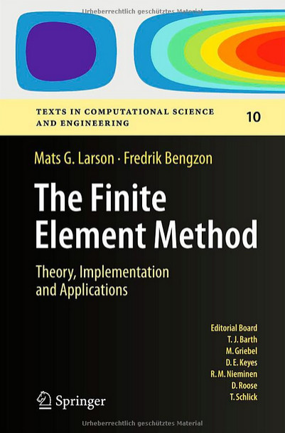 The Finite Element Method: Theory, Implementation, and Applications free download