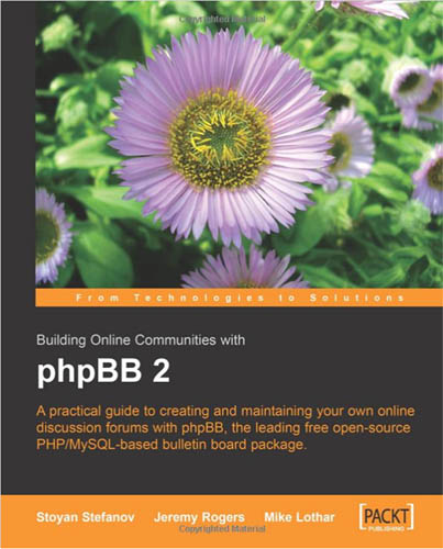 Building Online Communities with phpBB 2 by Jeremy Rogers free download
