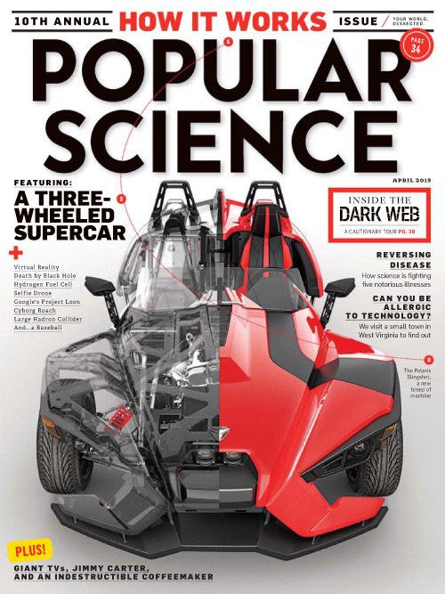 Popular Science USA - April 2015 free download