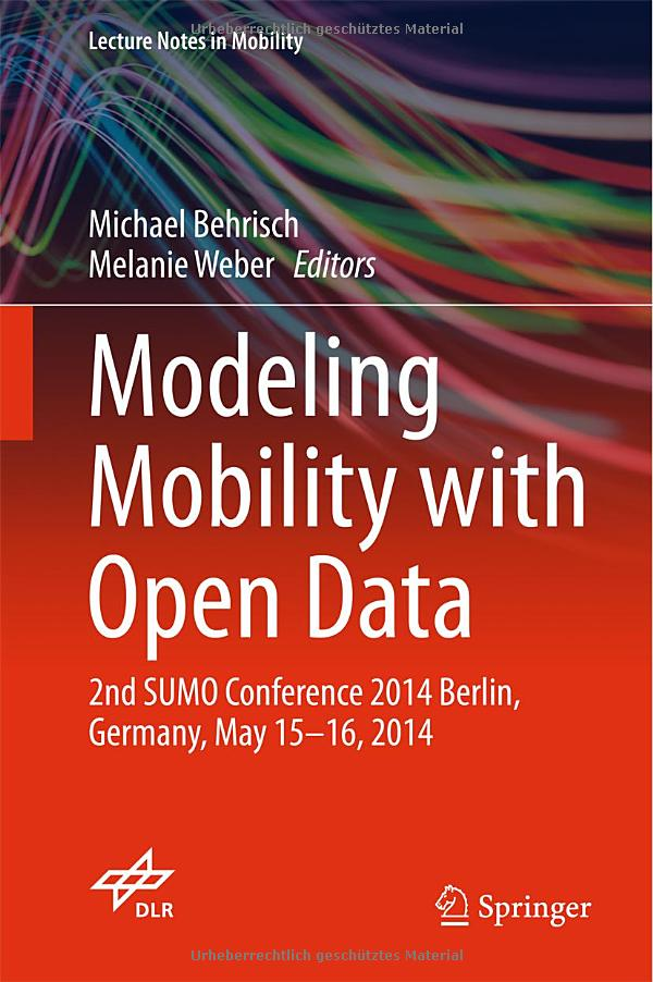 Modeling Mobility with Open Data free download