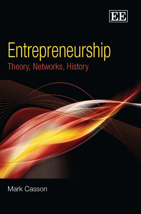 Entrepreneurship: Theory, Networks, History