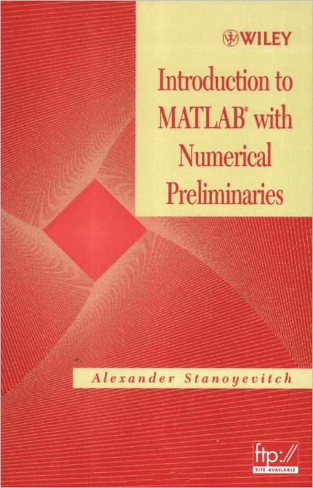 Introduction to MATLAB with Numerical Preliminaries free download
